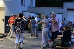 Bald hat die Band das Publikum schon zum Tanzen verführt