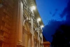 und das Museum von außen