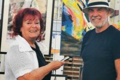 Gespräch mit dem Künstler und Initiator von Montmartre Wolfgang Peterl